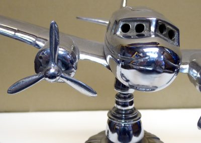 Vintage Airplane Tabletop Lamp