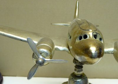 Antique Tuscan Airplane Lamp