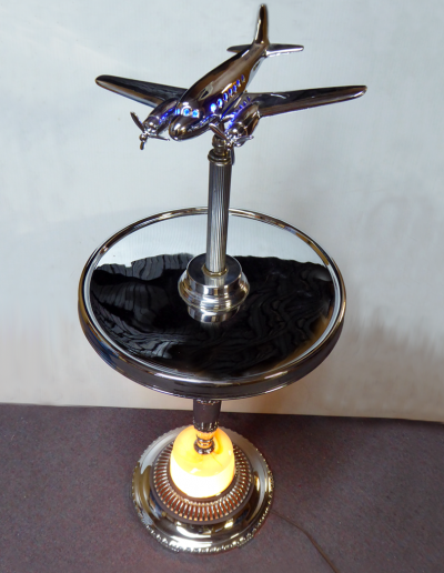 Vintage Airplane Floor Stand Lamp Lamp from the 1940's to 1950's