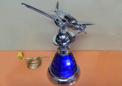 Vintage Airplane Lamp from the 1940's to 1950's